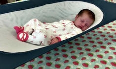 Crescent Womb Infant Safety Bed (image via Crescent Womb)