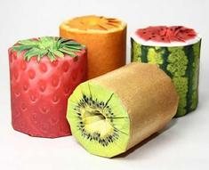 Fruit Wrap Toilet Paper Juices Up Any Bathroom Decor