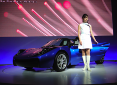 Toray's Carbon Fiber Electric Sports Car: Light Weight, Heavy Performance