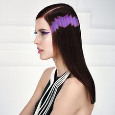 Pixelated Hair: The Bizarre Hair Color Trend For 2015