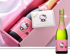 Hello Kitty Champagne Makes New Year's Eve Cuter & Sweeter