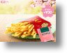 Want To Taste Spring With Your Burger? Get Sakura Fries