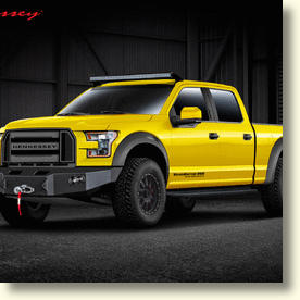 Hennessey Takes Ford's New F-150 Truck To The Max With The 2015 VelociRaptor 600 Supercharged