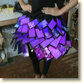 Skirt Made From Smart Phones