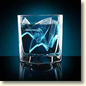 Star Trek Starfleet Ice Cubes