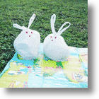 Cute Rabbit Trash Bag - It&#039;s White to go Green!