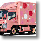 "Mitsubishi FUSO's ""Cute Truck Project"" Aims To Cheer Up Women Drivers"