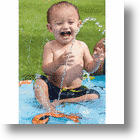 The Li&#039;l Squirt Baby Pool Eases Your Baby Into Water Play