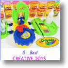 Top 5 Creative Activity Toys To Buy Kids- Toy Of The Year Winners