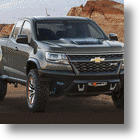 Chevrolet Colorado ZR2 Concept Pickup Looks Riled Up & Ready To Rumble