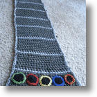 Rockin' Fashion For Guitar Hero Fanatics: The Guitar Hero Scarf