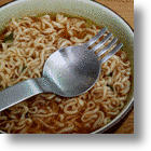 Super Combo Ramen Fork Spork Keeps Your Noodles Soupy