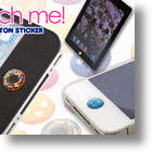 iPhone, iPod and iPad Custom Button Stickers Bling Up the Power