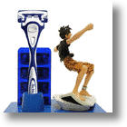 Schick Japan Animates Your Shave with a 'One Piece' Anime Action Figure