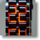 Look Mom, No Hands! Faceless LED Watch is All Band, No Dial