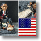 Obama vs Osama Awesome Limited Edition Action Figure