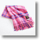 Hello Kitty Official Tartan Blanket Warms Your Body, Drains Your Wallet