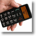 6380 Senior Cell Phone Helps Older Folks Keep In Touch