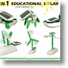 6 in 1 Solar Robot Kit Offers Educational Fun