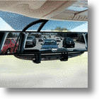Rear View Mirror Eliminates Blind Spots