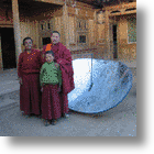 Solar Cookers Save Power in Lhasa, Tibet's 'Solar City'