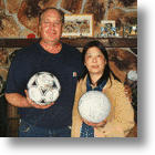 Tsunami Soccer Ball and Volleyball Kicked 3,100 Miles to Alaska