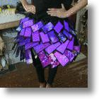 Innovative Skirts Made of Mobile Phones–Who's Calling, Please?