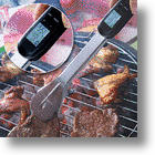 Digital BBQ Tongs With Thermometer