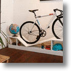 Manuel Rossel's Furniture Doubles As Bike Storage