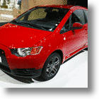 Mitsubishi Colt Borrows Big Brother's Nose