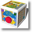 Sakar's Crayola AM/FM Alarm Clock Radio for Kids