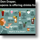 8coupons & Foursquare Does A Spin On Mad Men Advertising