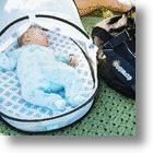 EquiptBaby Complete Diaper Bag Has It All, Including A Portable Bassinet