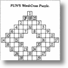 The Crossword Puzzle: A Wordy History
