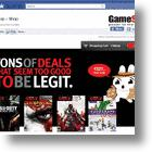GameStop Sets Up Shop On Facebook