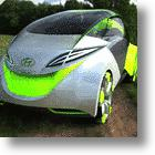 Hyundai City Car Seats Four and is Powered By Photosynthesis