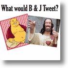 Social Media Experts Buddha &amp; Jesus Are All About The Tweets!
