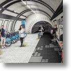 Reinventing London's Old Tube Tunnels: Cyclists Set to Pedal Underground to Get Around