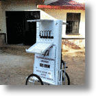 Mobile Charging Kiosk Runs On Solar Power, Saves Time And Energy