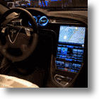Tesla Model S Loaded With Technology and Massive Touchscreen to Control Everything