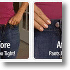 Perfect Fit Button Offers No Hassle Waistband Adjustment