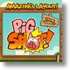 Send Pigs A Tumbling Down In The Pig Shot iPod Video Game