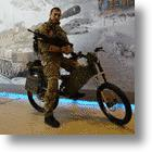 Russia's Army & Police Will Soon Be Riding Tactical Electric Bikes