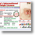 Santa License Helps Kids Believe