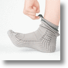 Upwalk Anti-Stumble Socks Help Keep Senior Citizens On Their Feet