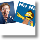 Social Networking With The Simpsons, Zuckerberg Has A Cow, Man!