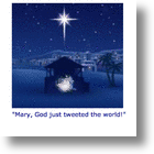A Social Media Retelling Of The First Christmas