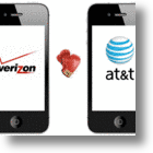 Apple Sits In Catbird Seat While AT&amp;T &amp; Verizon Duke It Out Over iPhone 4 Prey