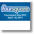 Since &quot;4 Squared&quot; Is 16, &quot;Foursquare Day&quot; Must Be 4/16