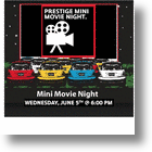 Yesteryear's Drive-In Theater Hosts Prestige's Biannual MINI Movie Night